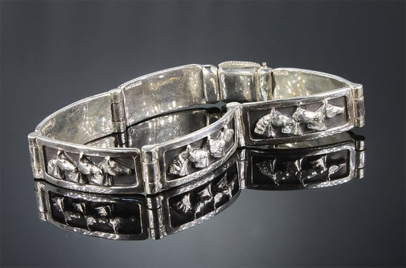 Sterling Silver Horse Head Bracelet by Cavallo Fine Jewelry