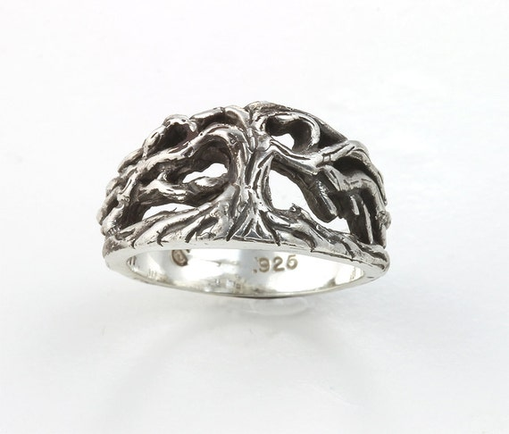 Tree Of Life Ring in Sterling Silver by Cavallo Fine Jewelry
