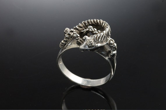 Sterling Silver Lizard Ring by Cavallo Fine Jewelry