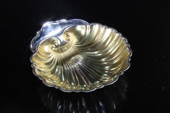 Vintage! Sterling Silver Gorham Scallop Trinket Dish
