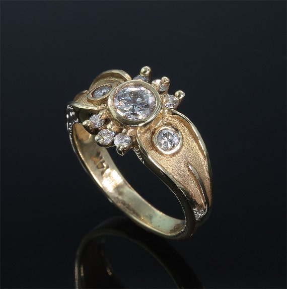 14K Gold .75 tcw Diamond Ring by Cavallo Fine Jewelry