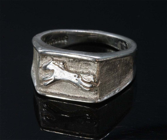 Sterling Silver Pony Ring by Cavallo Fine Jewelry