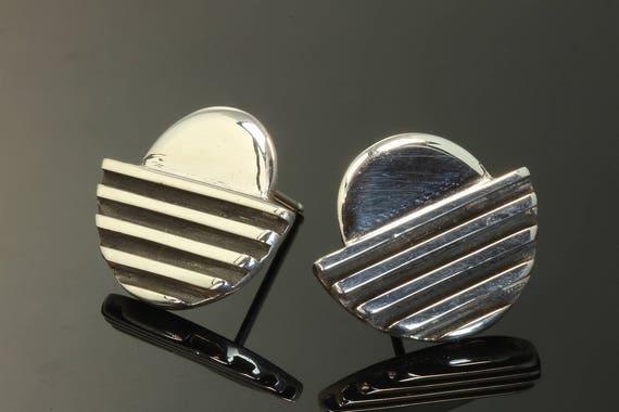 Sterling Silver Mod Sunrise Earrings by Cavallo Fine Jewelry