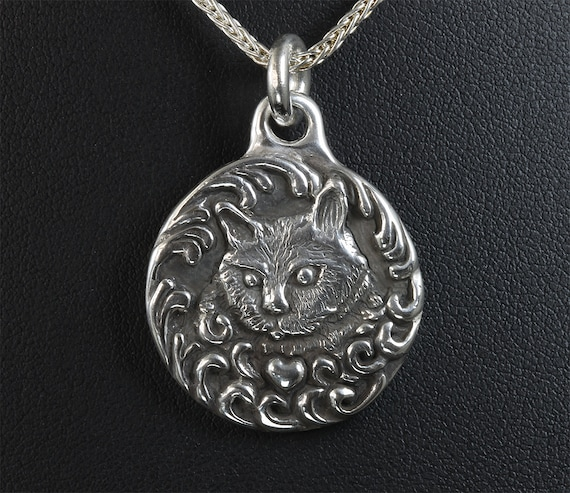 Sterling Silver Cat Pendant by Cavallo Fine Jewelry