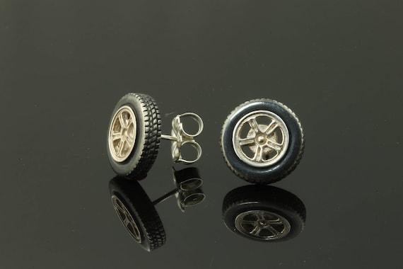 Sterling Silver Tire Earrings by Cavallo Fine jewelry
