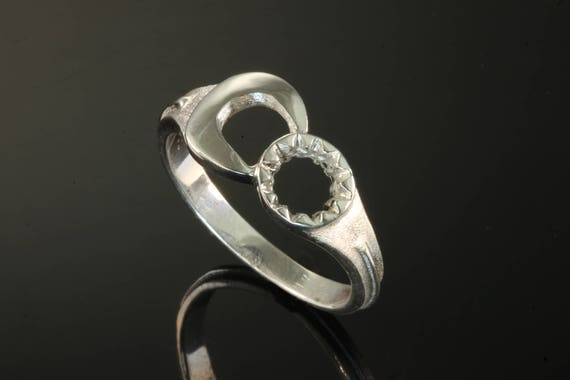 Sterling Silver Wrench Ring by Cavallo Fine Jewelry