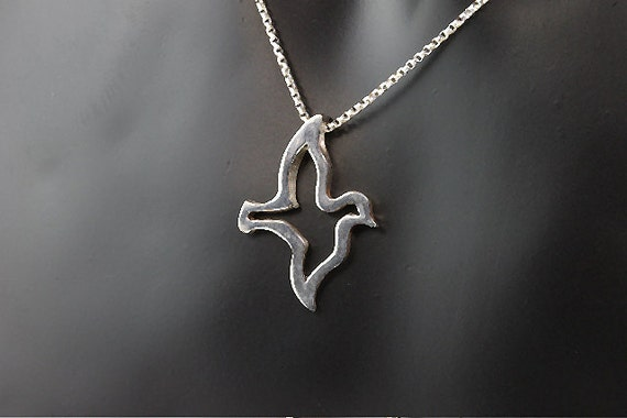 Sterling Silver Dove Pendant by Cavallo Fine Jewelry