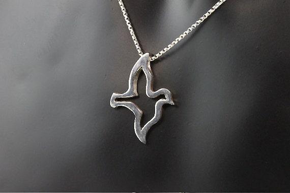 Sterling Silver Dove Pendant by Cavallo Fine Jewelry