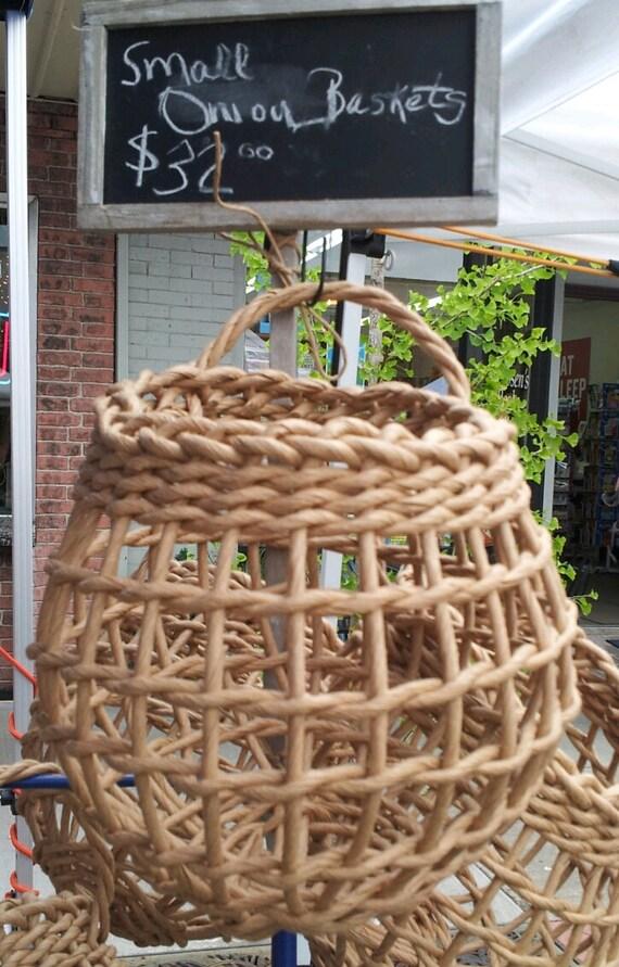 Small Onion Storage Basket | Etsy