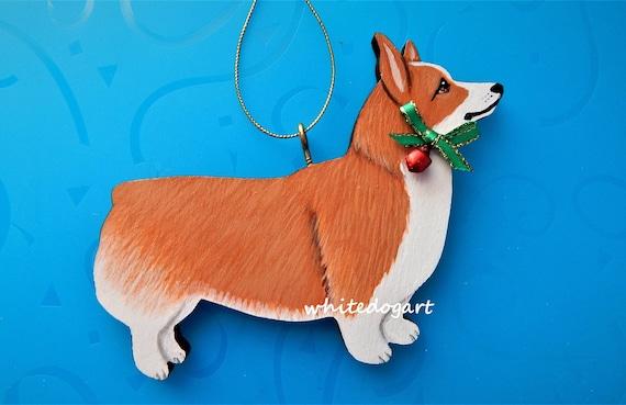 Collie Christmas Ornament hand cut