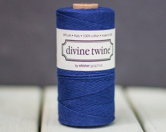Yellow Baker/'s Divine Twine 25 yards or 75 feet Solid