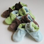 Custom Soft Sole Shoes: Fabric or Non-Slip, Baby, Toddler, or Adult Slippers