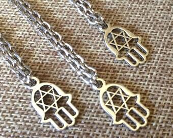 Hamsa Necklaces