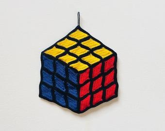 Rubik's Cube Crochet Pattern