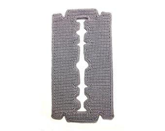 Dangerous Implements Razor Blade Crochet Pattern