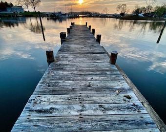 Pier to the Chesaepeake Bay