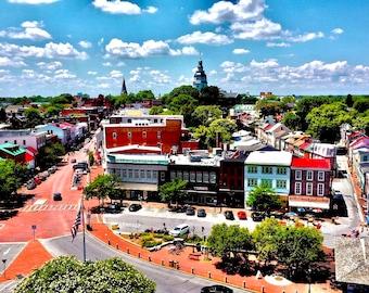 Aerial Annapolis Print - MD