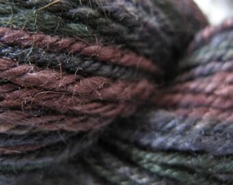 Dark Berries handspun yarn