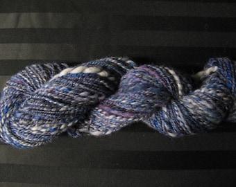 Naiad handspun hand dyed yarn