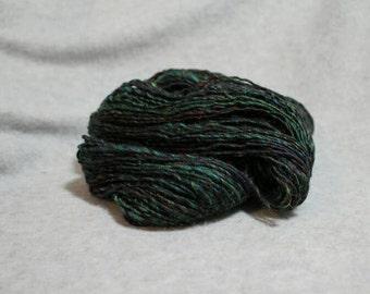 English Garden handspun merino single ply yarn