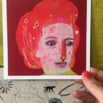 Hairdo - Mini Art Print