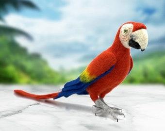 Pablo the Parrot needle felting kit - Save on multiples! (mix & match)