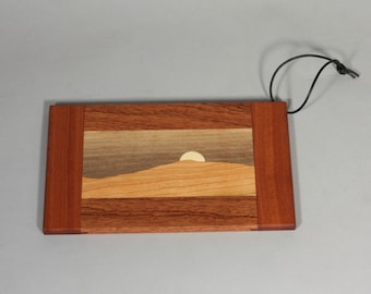 miniature mountain cutting boards