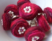 Ring - Felted Wool, Berries