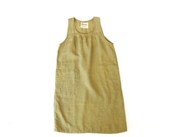SALE #110: Organic Linen Patio Dress // Size XS