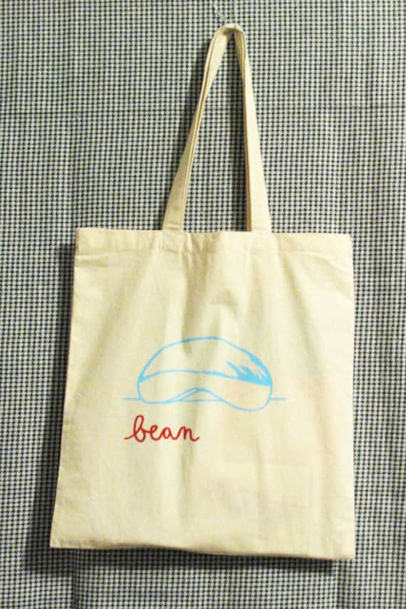 Peachy Bean Bag Chicago Cloud Gate Cotton Grocery Tote Alphanode Cool Chair Designs And Ideas Alphanodeonline