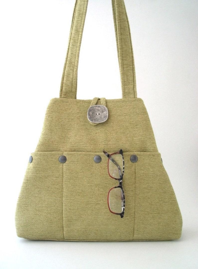 shoulder handbag hobo tote bag shoulder bag vegan bag image 0