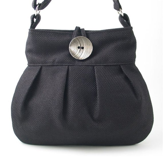 4a15dc6787a crossbody messenger bag black tote bag fabric handbag black   Etsy