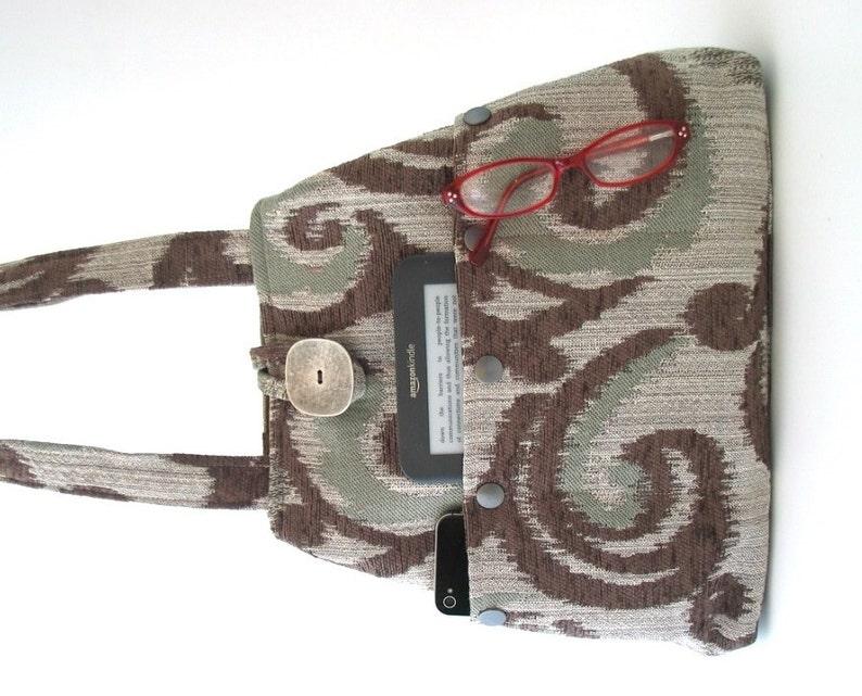 4e1cff0fa4bce Damen Handtaschen Tasche Schultertasche Stoff Handtasche