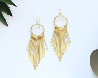 b376fd2846471 Fringe earrings | Etsy