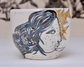 portrait bowl