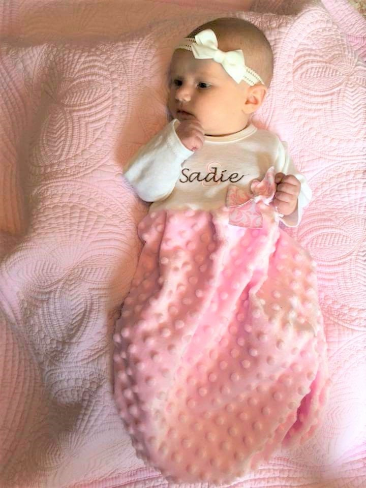 Baby Girl Coming Home Outfit Winter Personalized Take Home Gown Baby ...