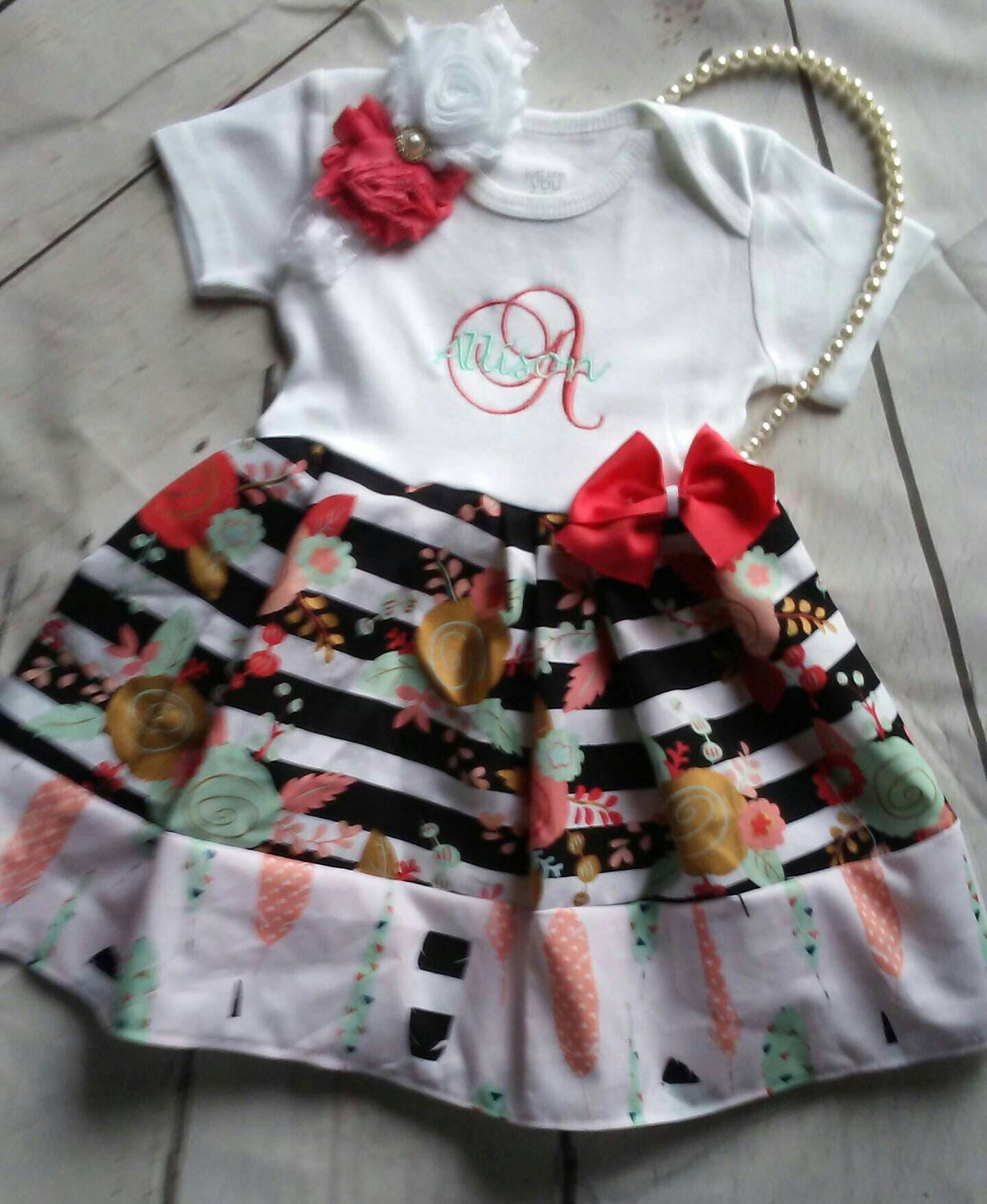 Baby girl coming home outfit, baby girl clothes, baby girl outfits ...