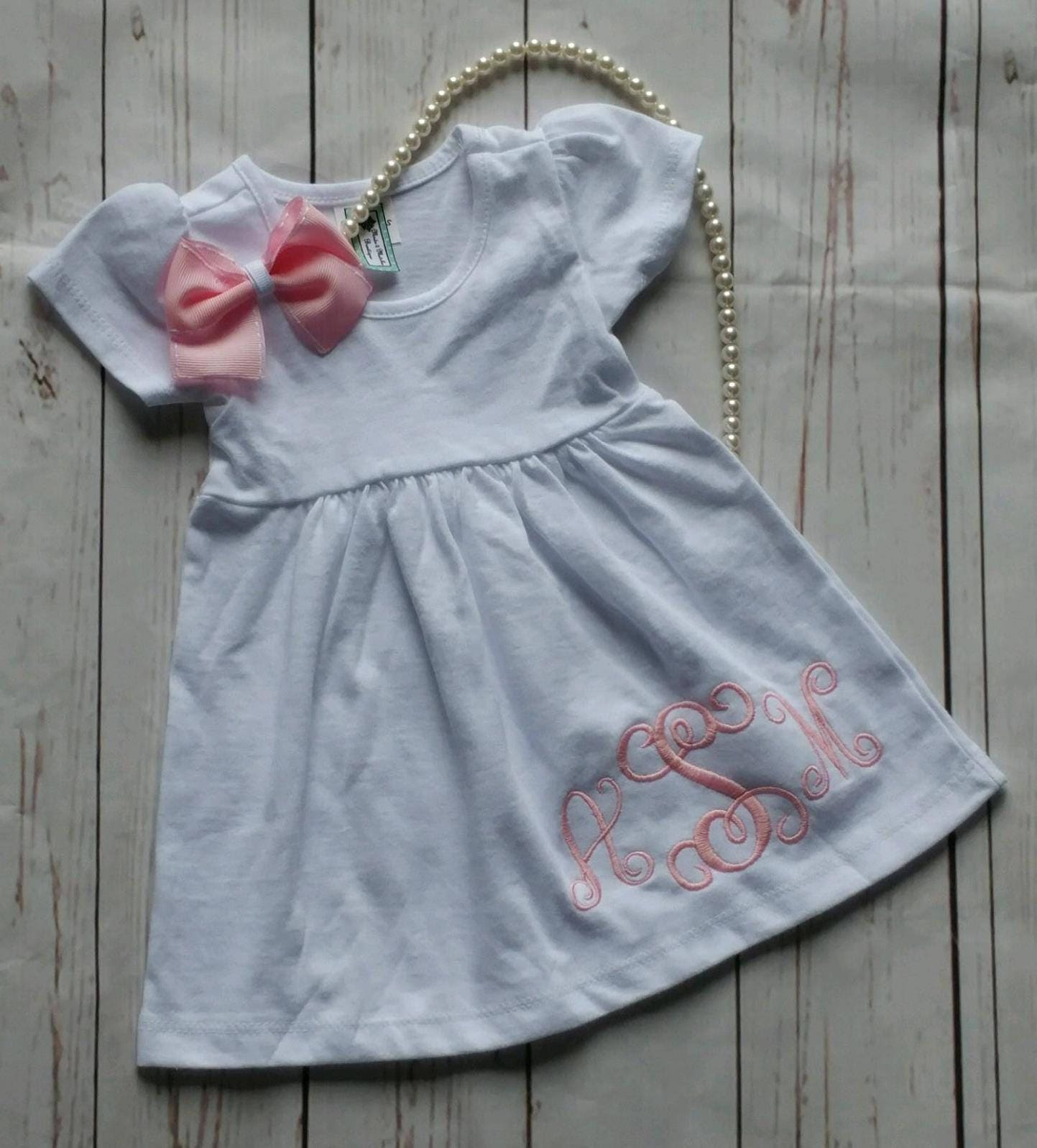 Personalized Baby Gift Baby girl dress Personalized Baby Girl ...