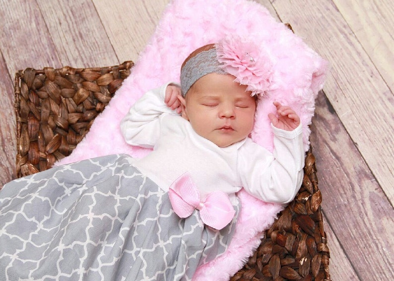 b69786eb4 Baby girl coming home outfit newborn layette gown newborn | Etsy
