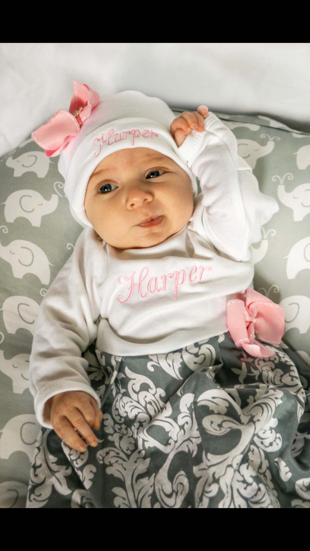 fa4d6275575e Newborn Girl Coming Home Outfit Summer Winter Fall Newborn