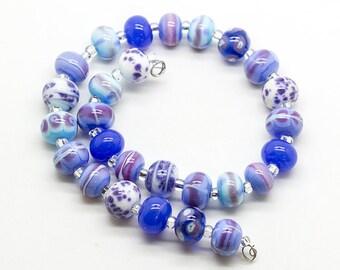 ready to ship Margo lampwork beads set (27)
