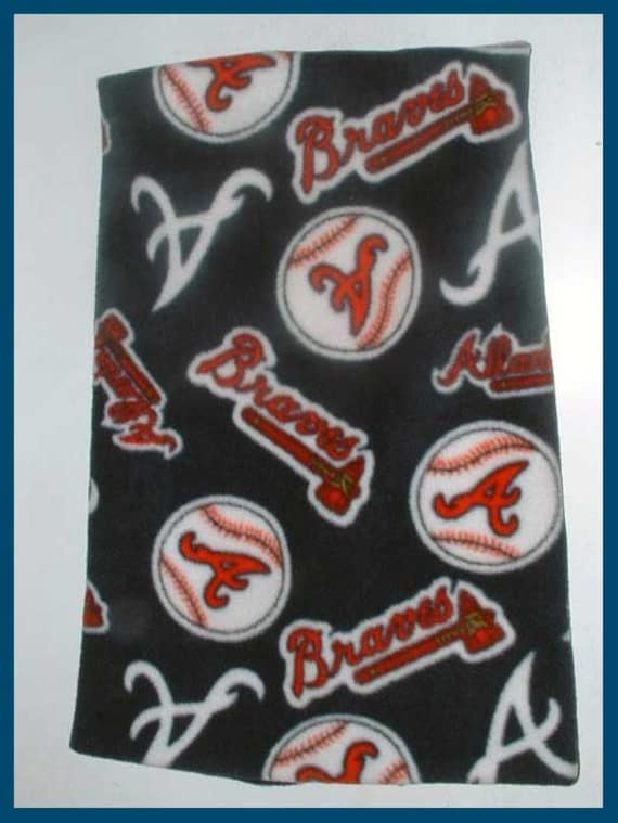 Atlanta Braves Baseball Fleece Scarf