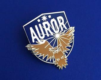 Auror Enamel Pin - Owl Badge - Harry Potter Enamel Pin