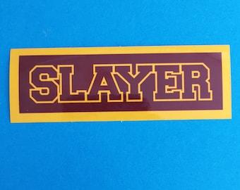 Sunnydale Slayer Vinyl Sticker - Buffy the Vampire Slayer