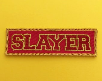 Sunnydale Slayer Iron On Patch - Buffy the Vampire Slayer