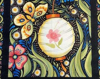 Julie Paschkis Lantern Quilt Panel In The Beginning Fabrics