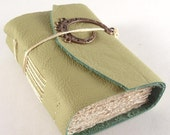 Green Tea, Mini Leather Journal