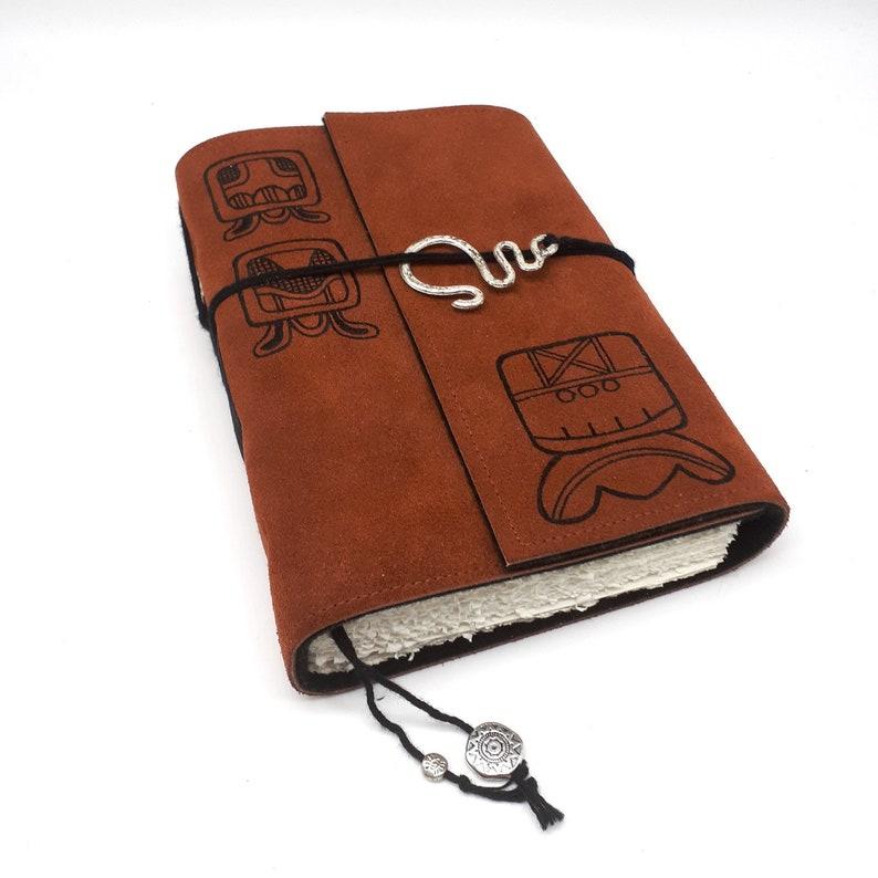 Maya Handmade Leather Journal Notebook image 0