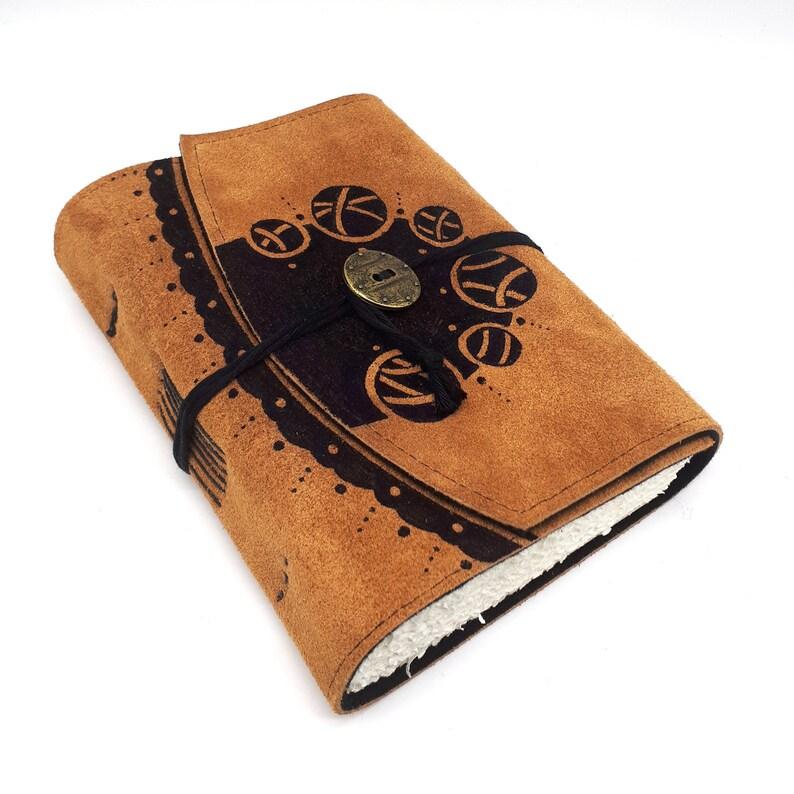 Holism Handmade Leather Journal Notebook image 0