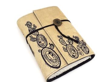 Cacti Handmade Leather Journal, Notebook